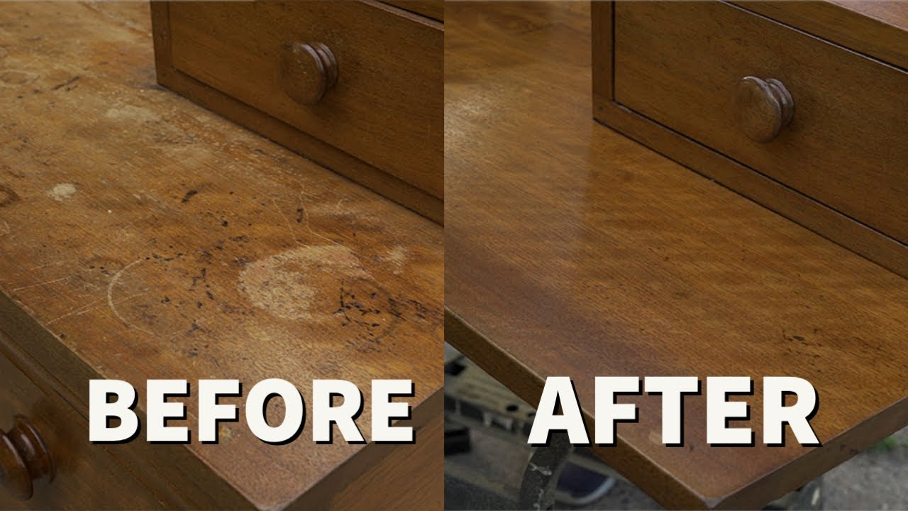 Refinishing An Old Dresser That I Found On the Curb | Furniture Restoration & Repair