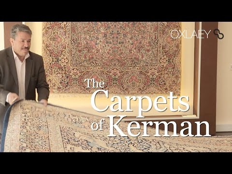 The Carpets of Kerman فرش‎‎ • Artisans Weaving in Iran • Kerman کرمان • IRAN