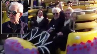 Great-Grandpa Breaks World Record by Riding Roller Coaster for 105th Birthday