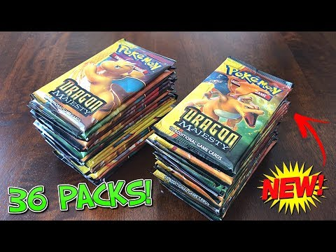 Pokemon Cards DRAGON MAJESTY BOOSTER BOX OPENING! *Secret Rare Pull!*