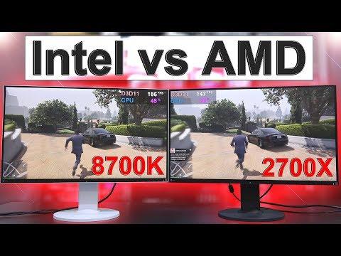 Intel vs AMD 2018 -- Side by Side Comparison