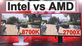 Intel vs AMD 2018 -- Side by Side Comparison