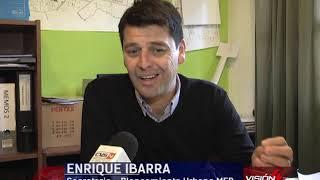 23 04 19  ENRIQUE IBARRA  Sec  Planeamiento Urbano MEB   Mejoramiento de las Plazas Finalización de