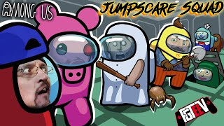 AMONG US: Jump Scare Squad (FGTeeV, PIGGY, GRANNY, BALDI, Hello Neighbor, Ice Scream + More)
