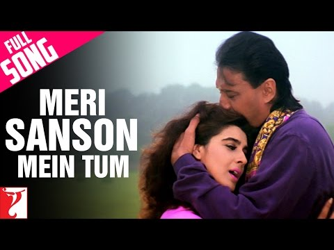 Meri Sanson Mein Tum - Full Song | Aaina | Jackie Shroff | Amrita Singh