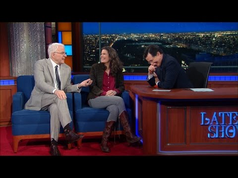 Steve Martin & Edie Brickell Talk 'Bright Star' - YouTube