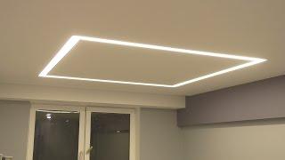 видео светодиодная подсветка потолка и стен фото