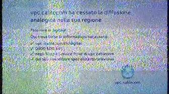 UPC Cablecom, Infotafel nach Analogabschaltung, 19.05.2015