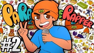 THE MOST FIRE RAP BATTLE IN HISTORY !!! (Parappa The Rapper 2 PS4) #2