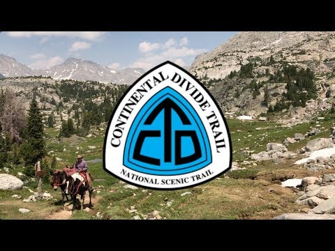 Continental Divide Trail in 90 Seconds (Don't Blink)
