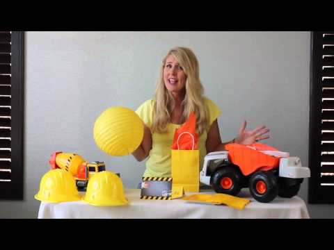 Kid's Party Theme: Construction Worker Theme