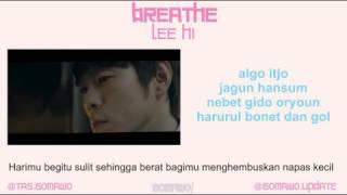 LEE HI - BREATHE [MV & EASY LYRIC ROM+INDO]