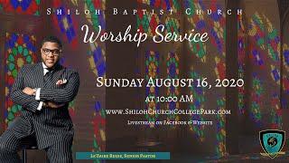 Shiloh Baptist Church: August 16, 2020