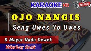 Ndarboy Genk Ojo Nangis Karaoke Lagu Jawa Koplo Nada Versi Cewek
