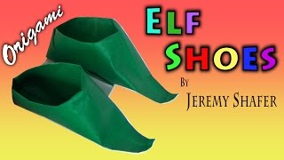 Origami Elf Shoes