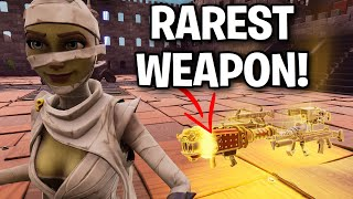 Meet the RAREST gun EVER! 😱😳 (Scammer Get Scammed) Fortnite Save The World