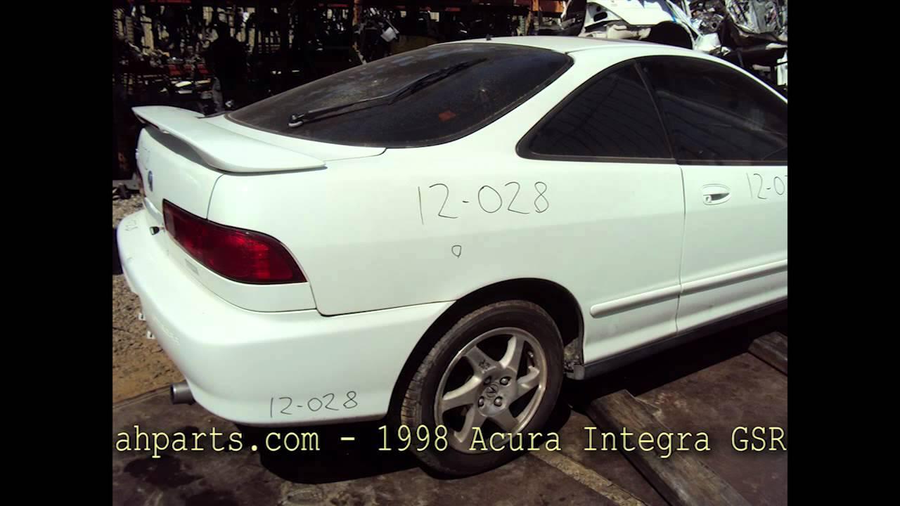 1998 acura integra gsr parts auto wreckers recyclers ahparts 1998 acura integra gsr parts auto wreckers recyclers ahparts honda used youtube pooptronica