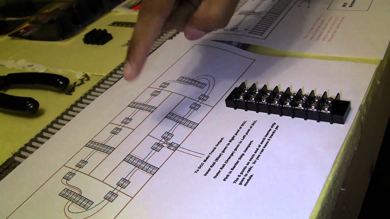 Part 6 of How to Build your Layout from Start to Finish---Intro to Dcc Layout Wiring Diagram on