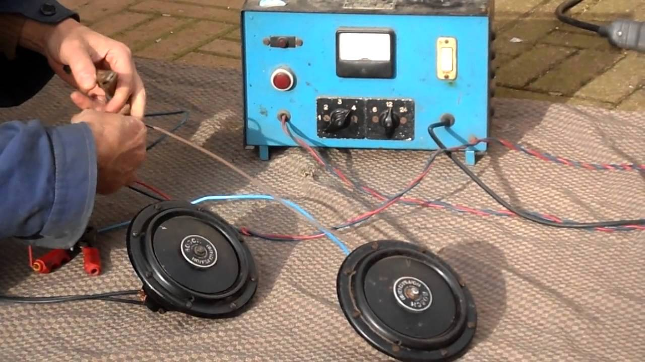 Vintage Bosch Horn Sound Test Ho Fsa12 3 8 4 Klakson Denso Waterproof Relaykabelsekring