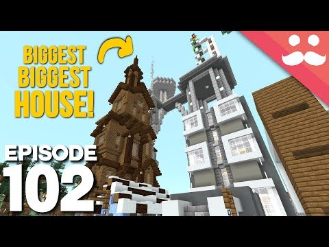 Hermitcraft 6: Episode 102 - BIGGEST BIGGEST* House!