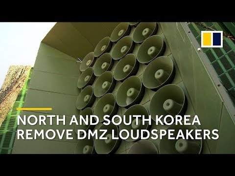 South Korea to remove loudspeakers in demilitarised zone