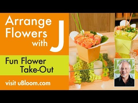how to make sphere flower arrangements