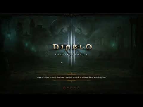 DIABLO 3 season 12 crusader party game level 59 GREATER 1F[Bruce Lee]