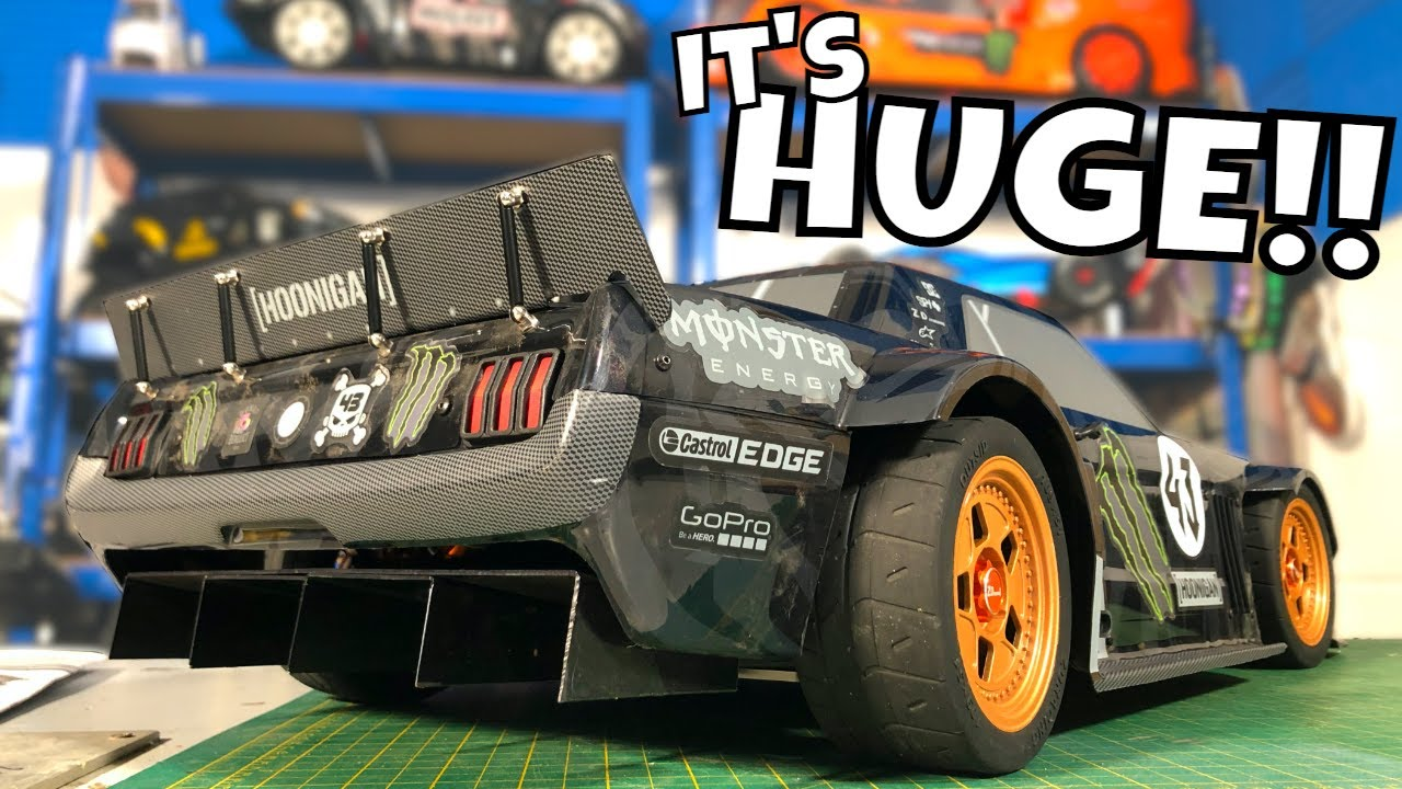 Giant, FAST Hoonigan RC Car! ZD Racing EX07 1/7 Scale Electric HyperCar!