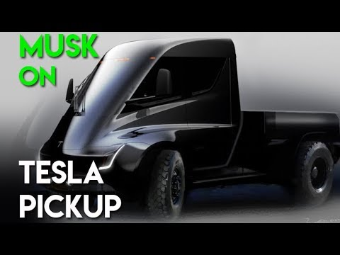 tesla pickup truck youtube. Black Bedroom Furniture Sets. Home Design Ideas