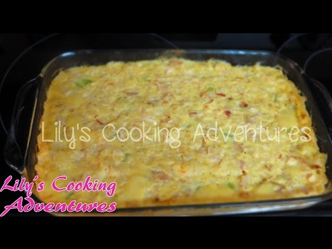Easy And Simple Chicken Casserole