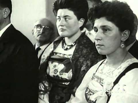 A Omegna si inaugura una mostra di pittura (1962)