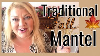 Fall 2019🍁 Traditional Fall Mantel Dinning Room 🍁Decorate with me|| on a budget