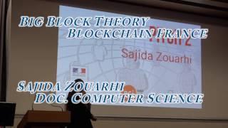 Sajida Zouarhi | Big Block Theory