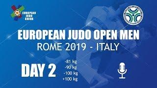 European Judo Open Men - Rome 2019 - Day 2