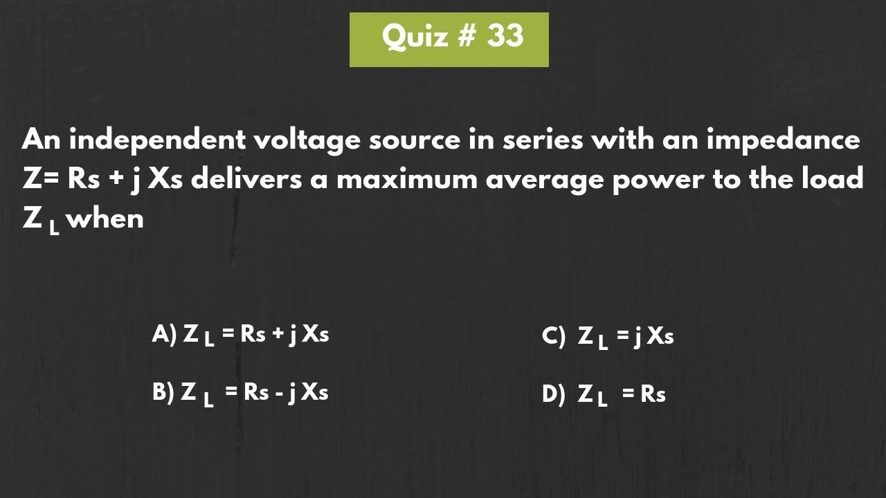 Quiz 33 (Solution)