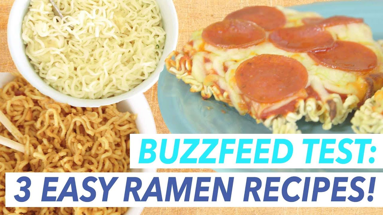 3 buzzfeed recipes for ramen noodles put to the test buzzfeed food 3 buzzfeed recipes for ramen noodles put to the test buzzfeed food tested youtube forumfinder Choice Image