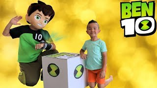 NEW BEN 10 Toys Collection Delivered By Ben 10 Himself To Ckn Toys