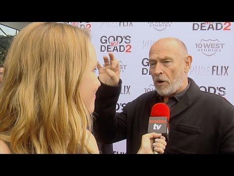 "Corbin Bernsen Interview ""God's Not Dead 2"" Premiere Red Carpet"