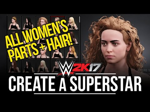 All Female Create A Superstar Parts