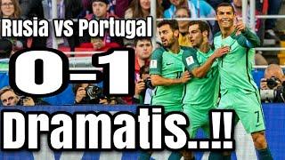 Dramatis! Hasil Pertandingan Rusia vs Portugal: Skor 0-1, Sundulan Ronaldo Tentukan Kemenangan