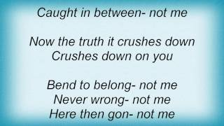 Terror - Crushed By The Truth Lyrics
