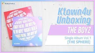 [Ktown4u Unboxing] THE BOYZ - 1st single [The Sphere] 더보이즈 스피어 언박싱
