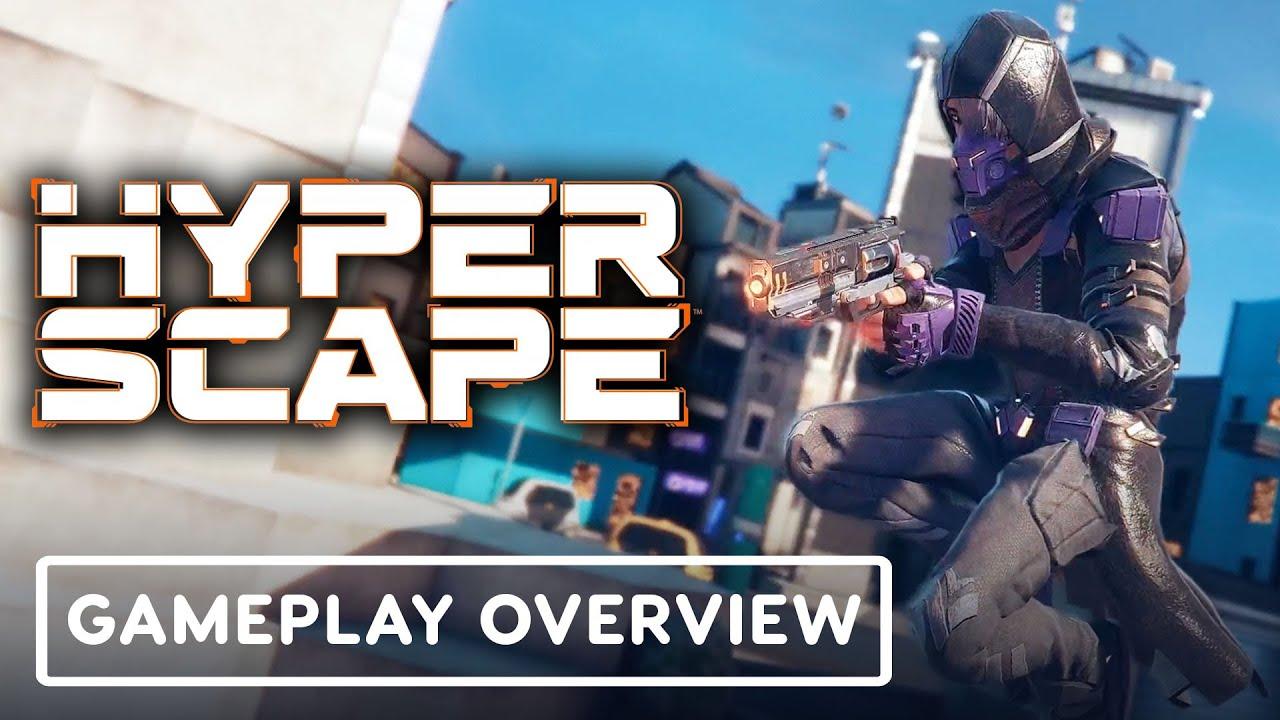 Hyper Scape - Dev Gameplay Walkthrough   Ubisoft Forward - IGN