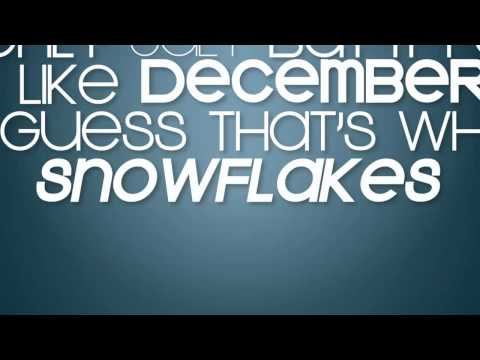 Snowflakes Official Lyrics Video - Tommy C ft. Maribelle Anes