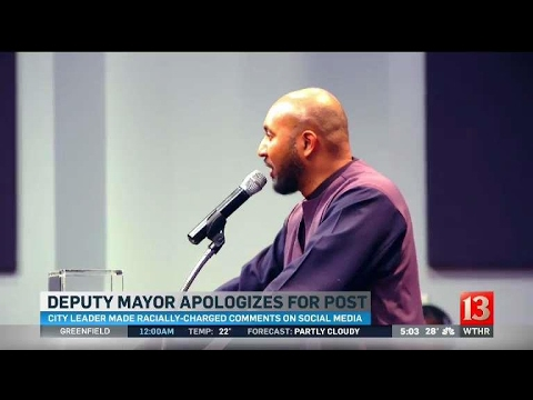 Deputy Mayor Apologizes 5pm