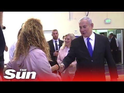 Benjamin Netanyahu vs Benny Gantz  - Exit polls show Israel election too close to call