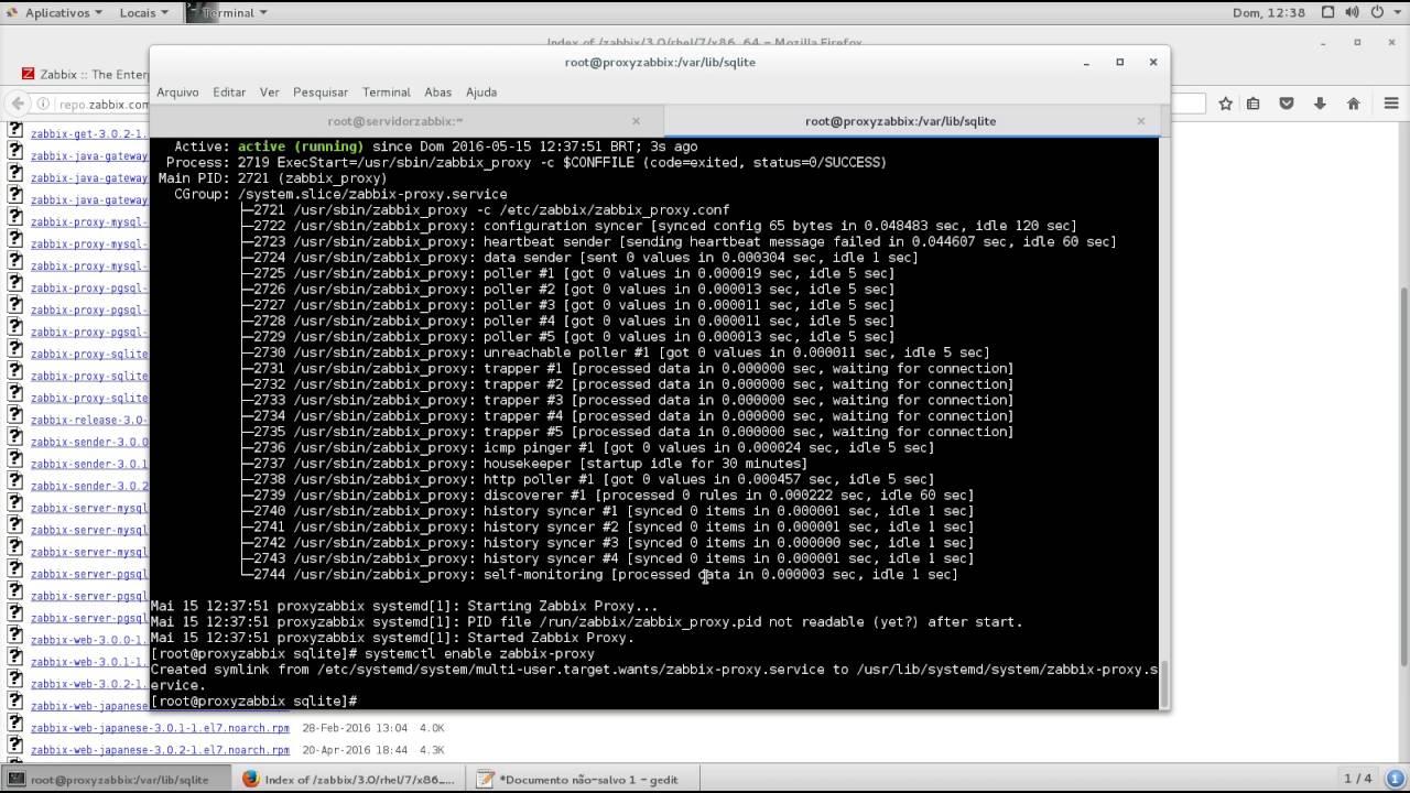 install zabbix proxy on centos