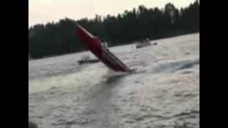 Boat Doing A Wheelie