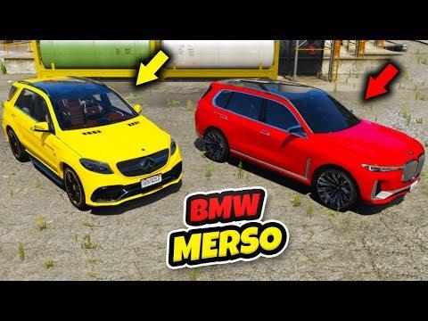 Bmw vs Mercedes SUV Arabalar Zamana Karşı Yarışıyor - GTA 5