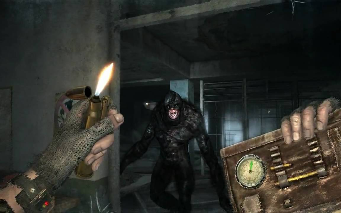 Metro 2033 Gameplay Killing Library Ghost with All Weapons ...